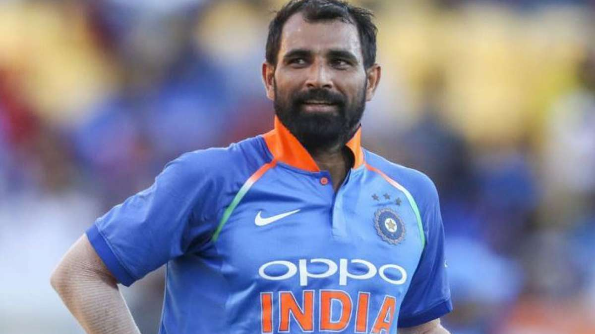 Mohammad Shami during a match