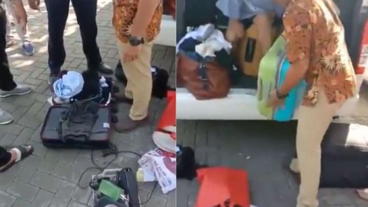 Indian family steals accessories from Bali hotel, video goes viral