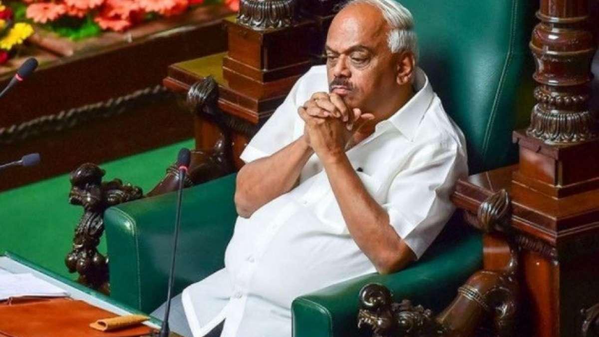 Karnataka speaker KR Ramesh resigns