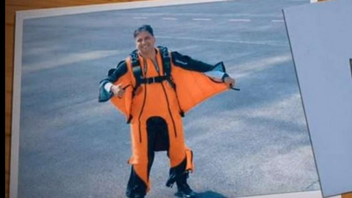 Tarun Chaudhri: First IAF officer to do wingsuit skydive jump