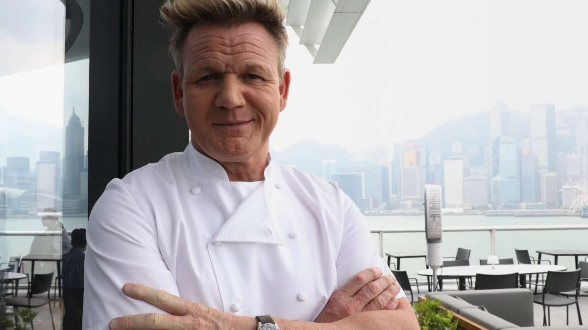 Chef Gordon Ramsay under fire for killing goat on TV