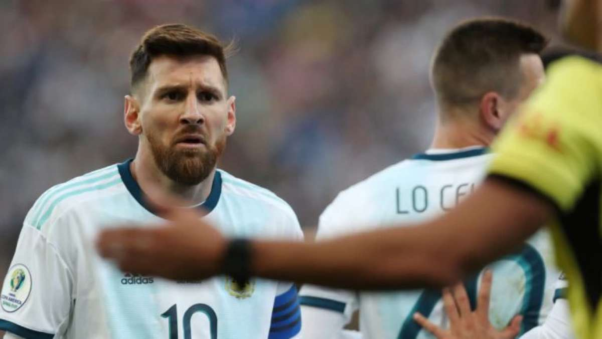 CONMEBOL bans Lionel Messi for three months