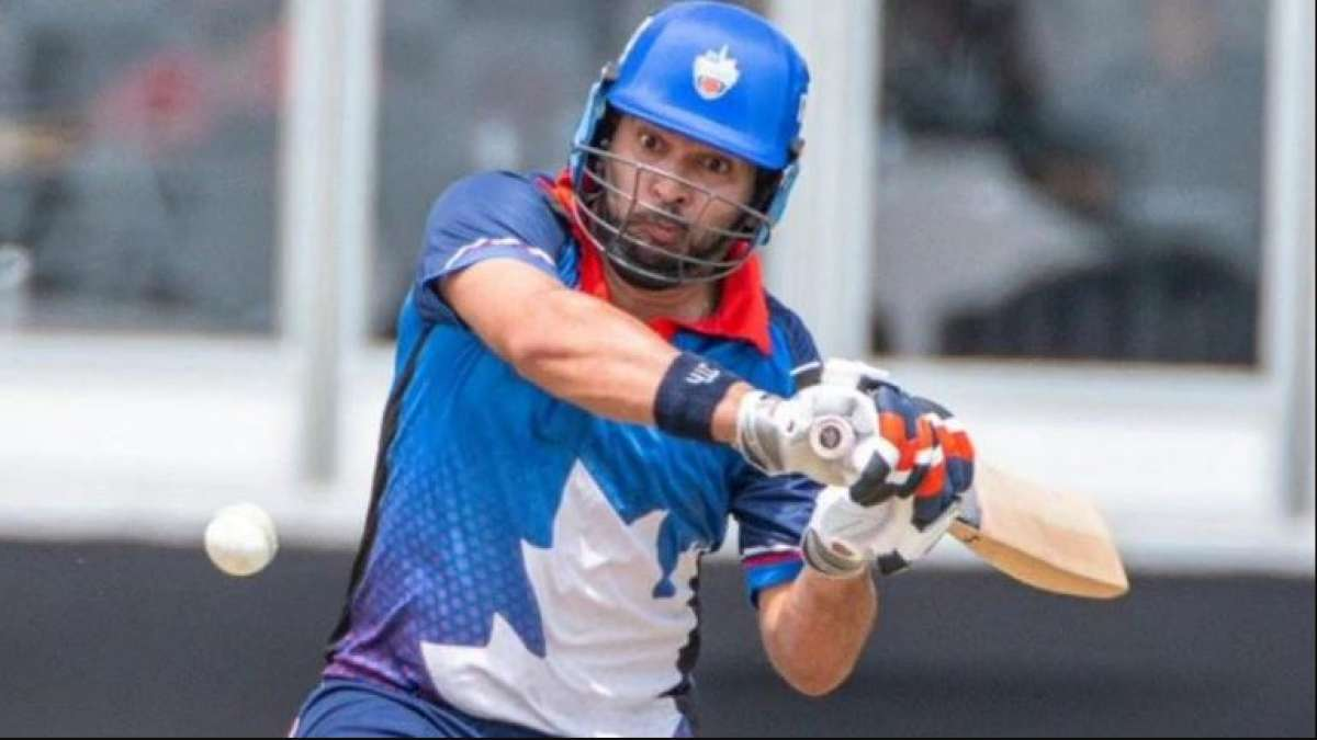 Yuvraj Singh shines in Canada Global T20