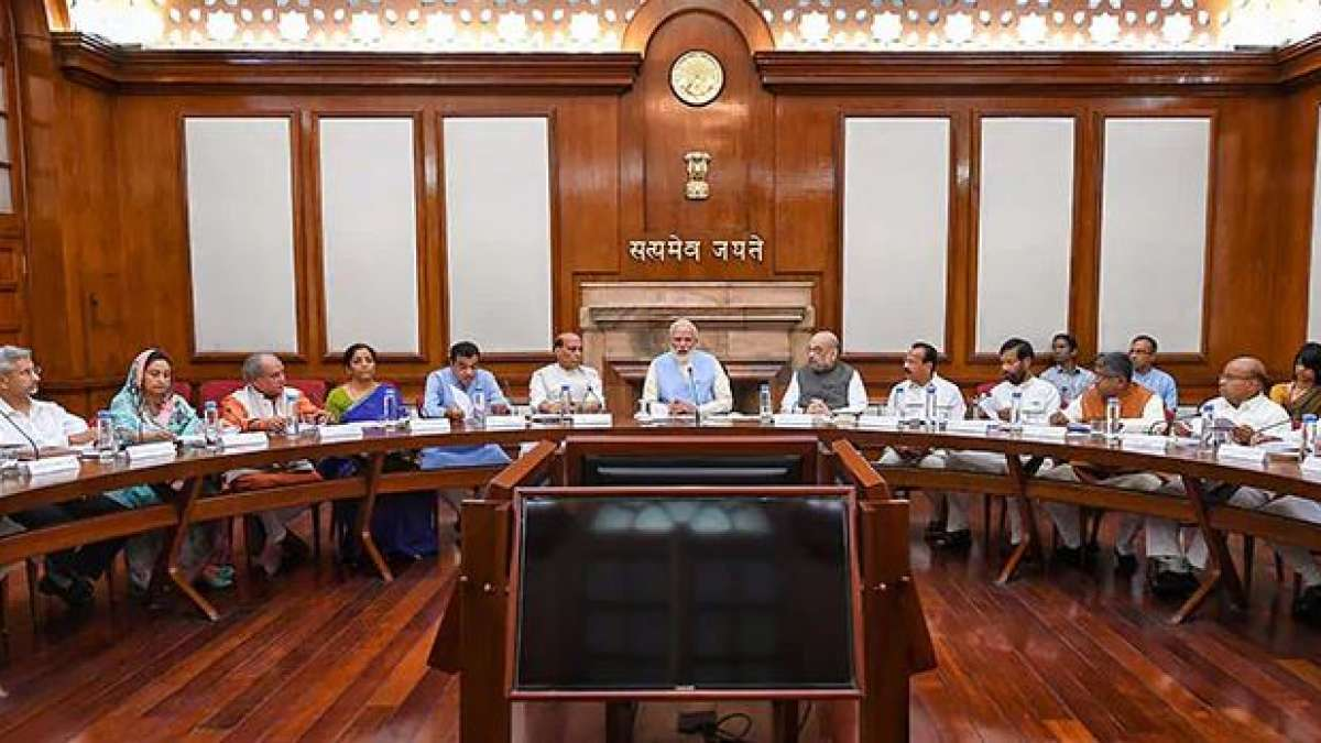 Union Cabinet meets at PM Narendra Modi's residence