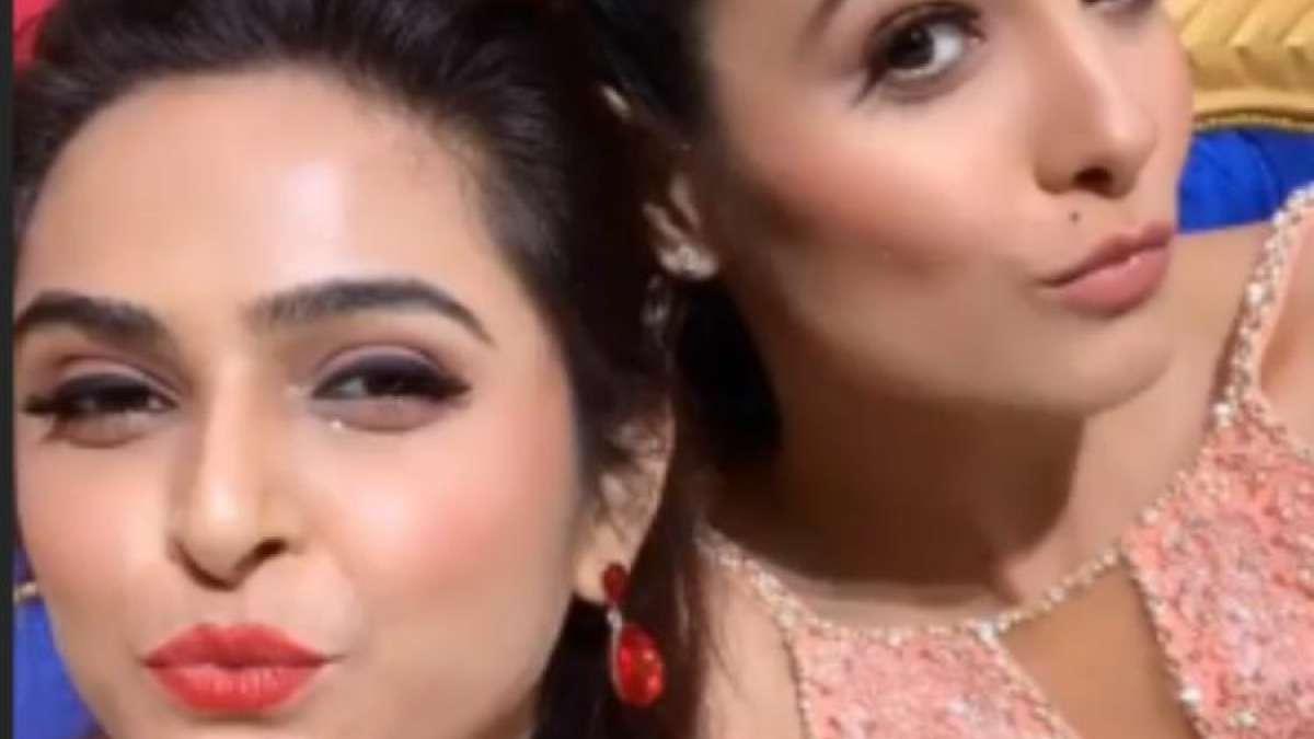 Nach Baliye 9 contestants Anita Hassanandani, Madhurima Tuli strike perfect pout