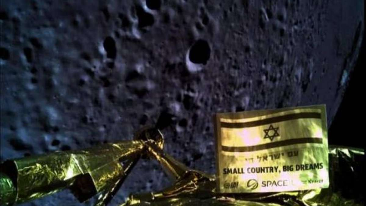 Indian soil may have reached Moon on crashed Israeli lander