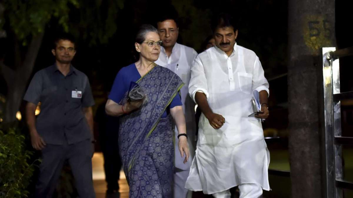 CWC picks Sonia Gandhi as interim chief of Congress