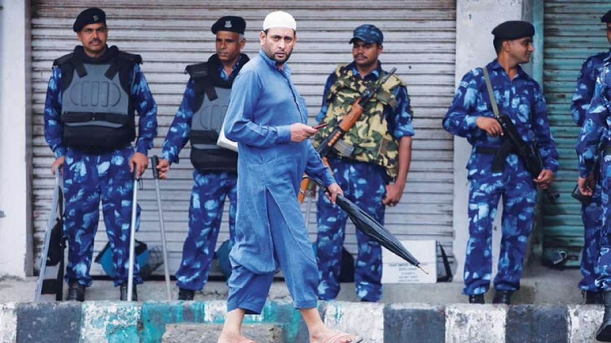 Tight security in Jammu and Kashmir ahead of Eid celebrations