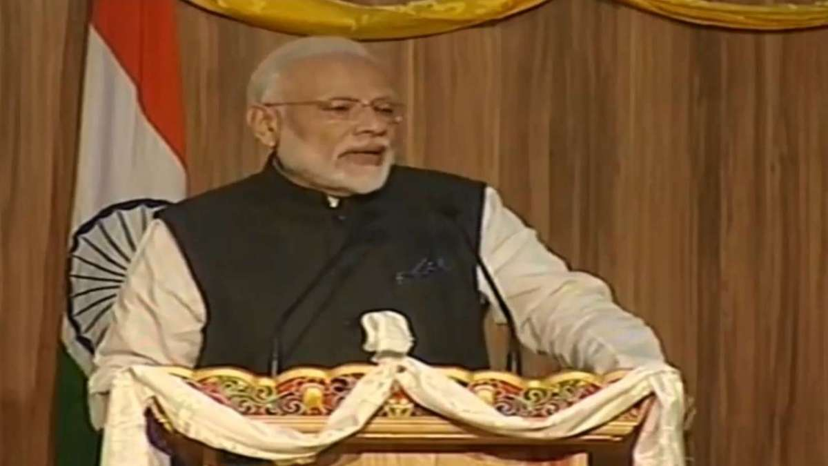 """No better time to be young than now"": PM Modi to students in Bhutan"