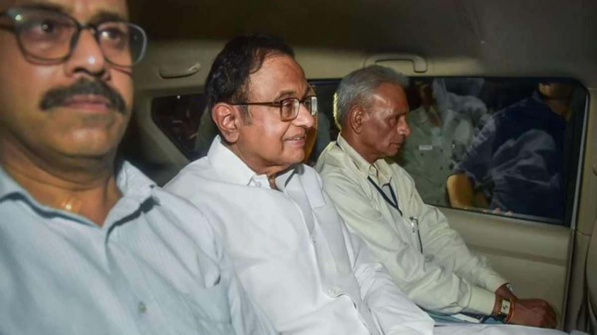 P Chidambaram arrested amid high drama at home