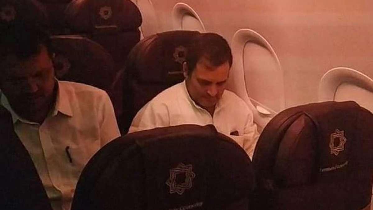 Rahul Gandhi, other senior Congress leaders sent back from Kashmir airport