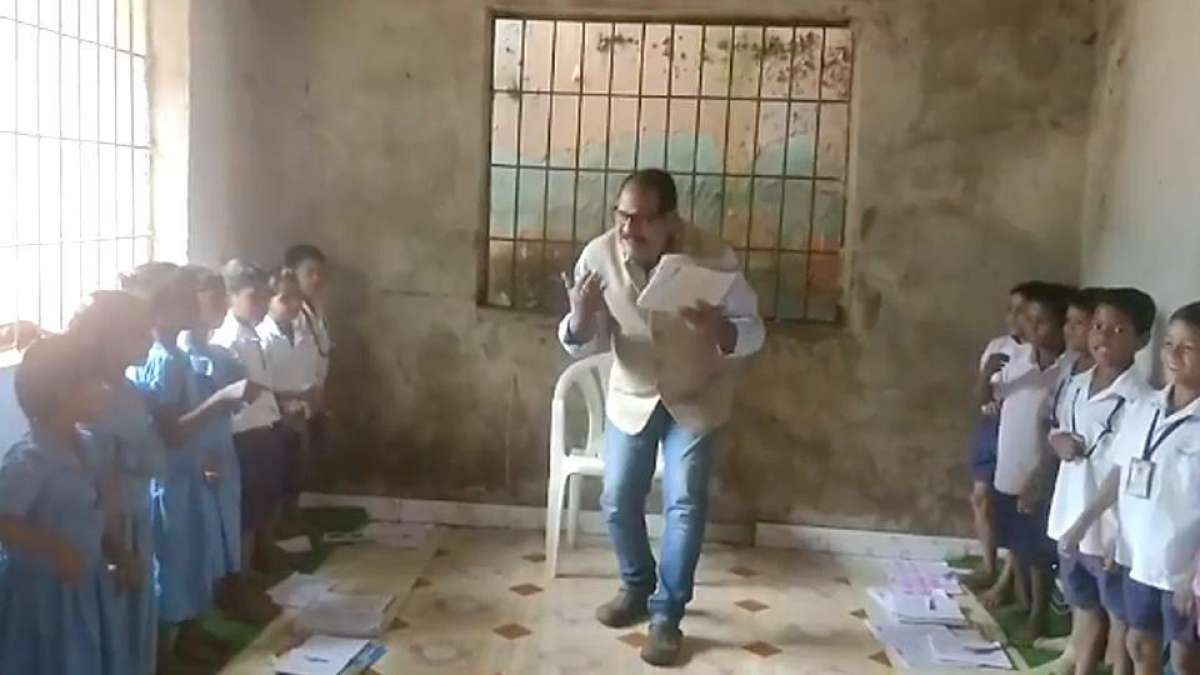 'Dancing teacher' from Odisha goes viral for unique teaching style
