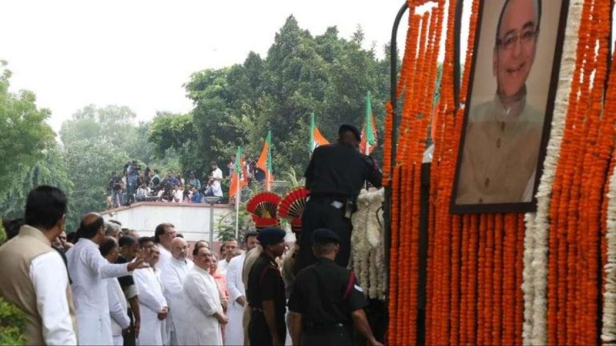Arun Jaitley death: Leaders pay last respect at BJP headquarters