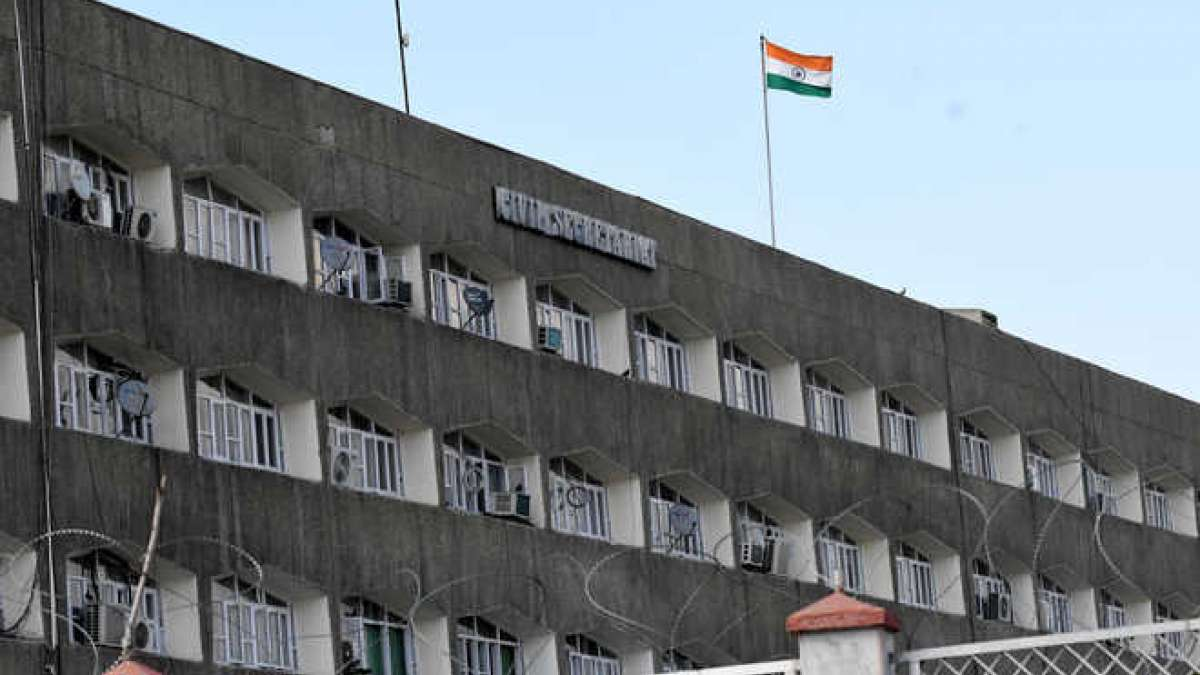 Jammu and Kashmir state flag removed from civil secretariat building
