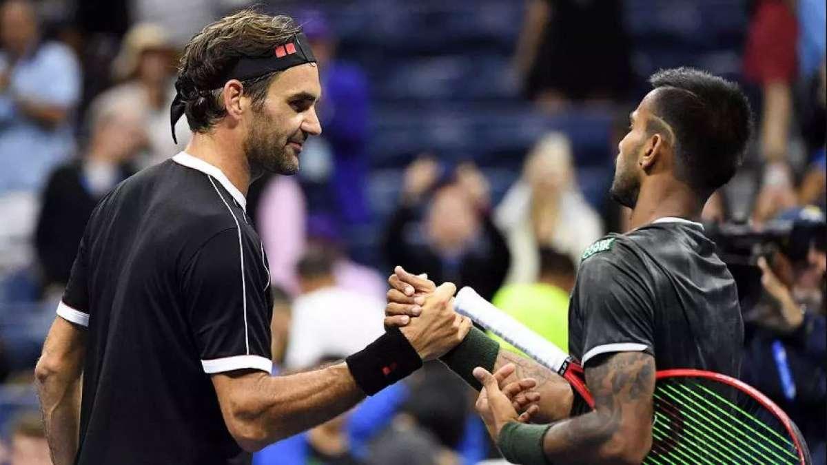 Sumit Nagal scares Roger Federer in US Open