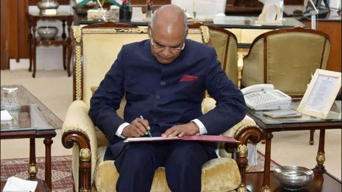 President Kovind appoints 5 new governors