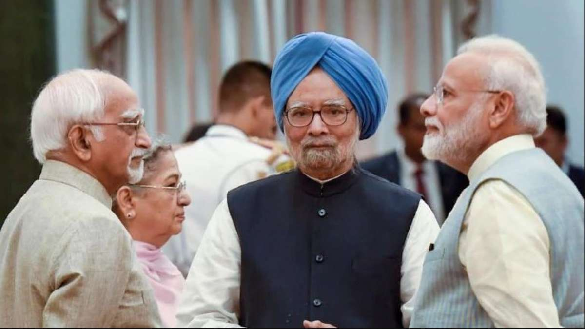Manmohan Singh blames Modi government for Economic slowdown