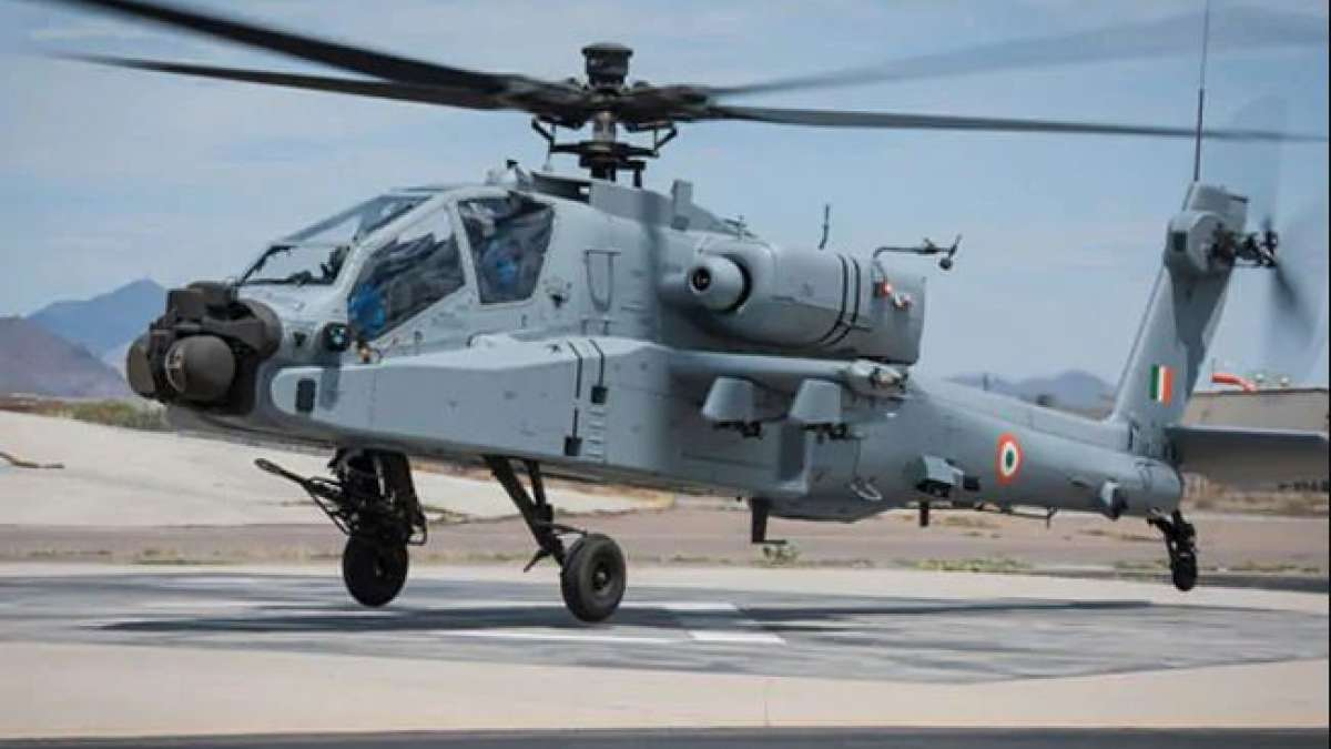 Indian Air Force gets 8 Apache attack helicopters