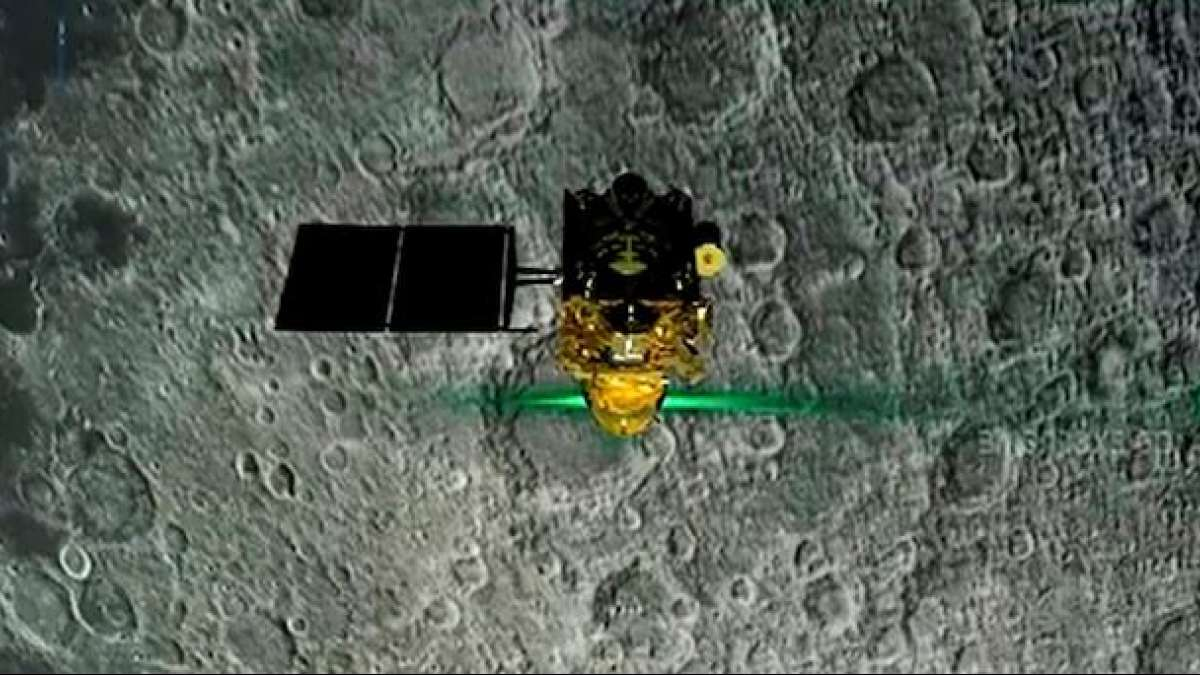 Chandrayaan 2: Lander Vikram located on moon, ISRO trying to establish connection
