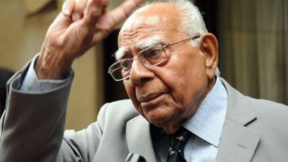 Ram Jethmalani, veteran lawyer and former union minister, passes away
