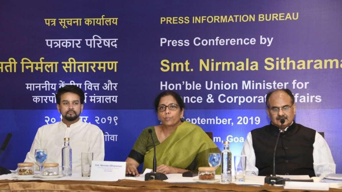 GST Meet 2019: Nirmala Sitharaman announces 4 economy boosters