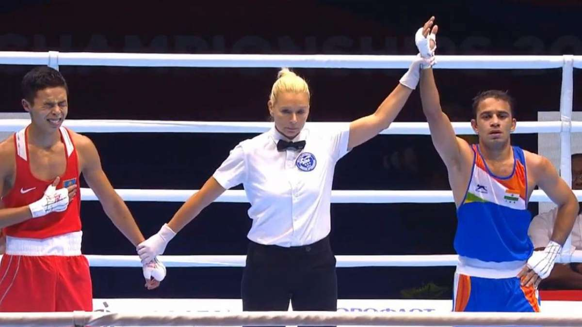 Amit Panghal scripts history, becomes first Indian male boxer to reach World Championship final