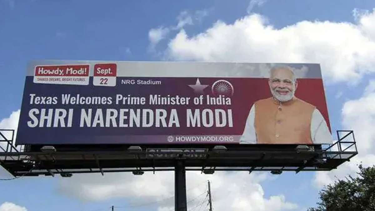 HowdyModi: PM Modi to receive cheer from strong 50,000 people