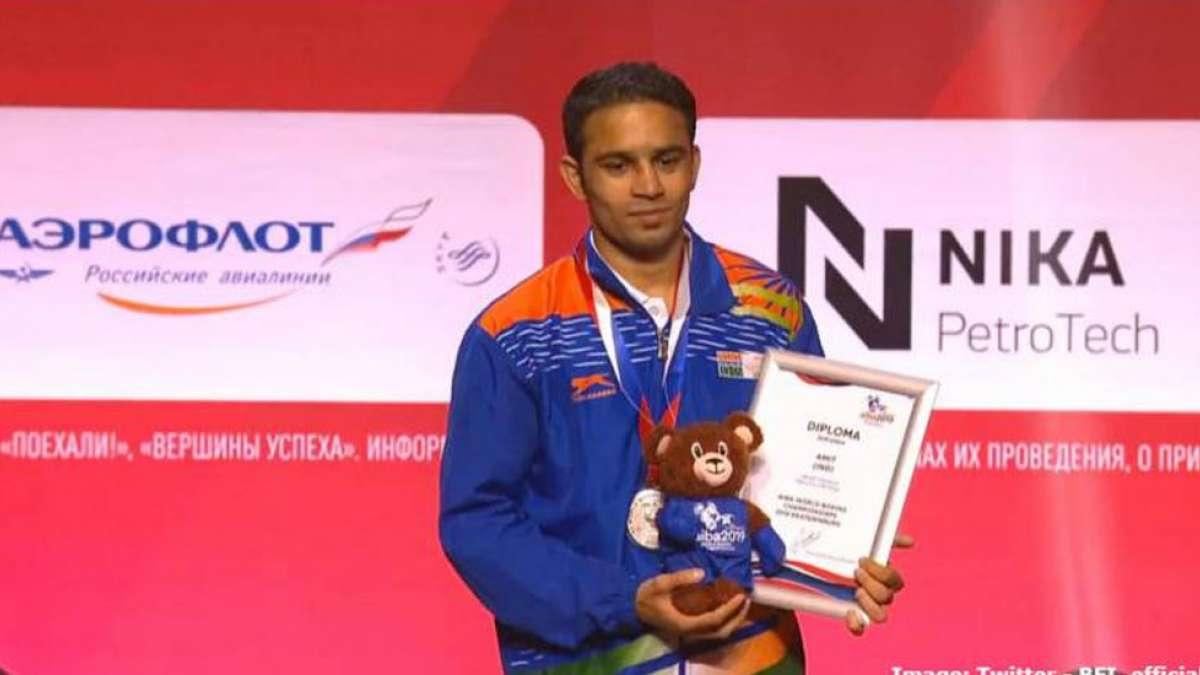 Amit Panghal prouds India with a silver medal