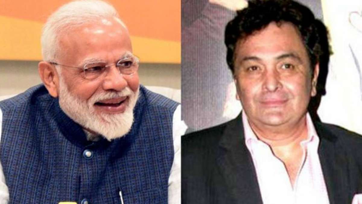 PM Narendra Modi misses Rishi Kapoor, wishes him good health