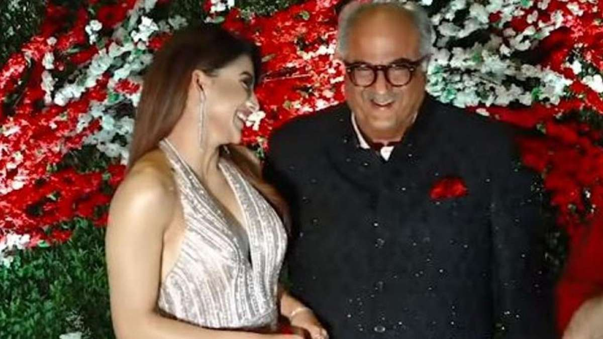 Urvashi Rautela defends Boney Kapoor over viral video of inappropriate touching