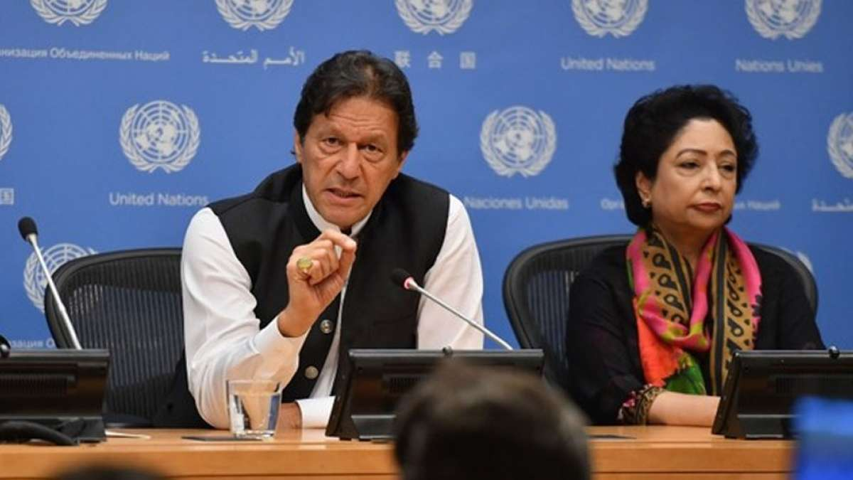 Pakistan Prime Minister Imran Khan at the Press Conference