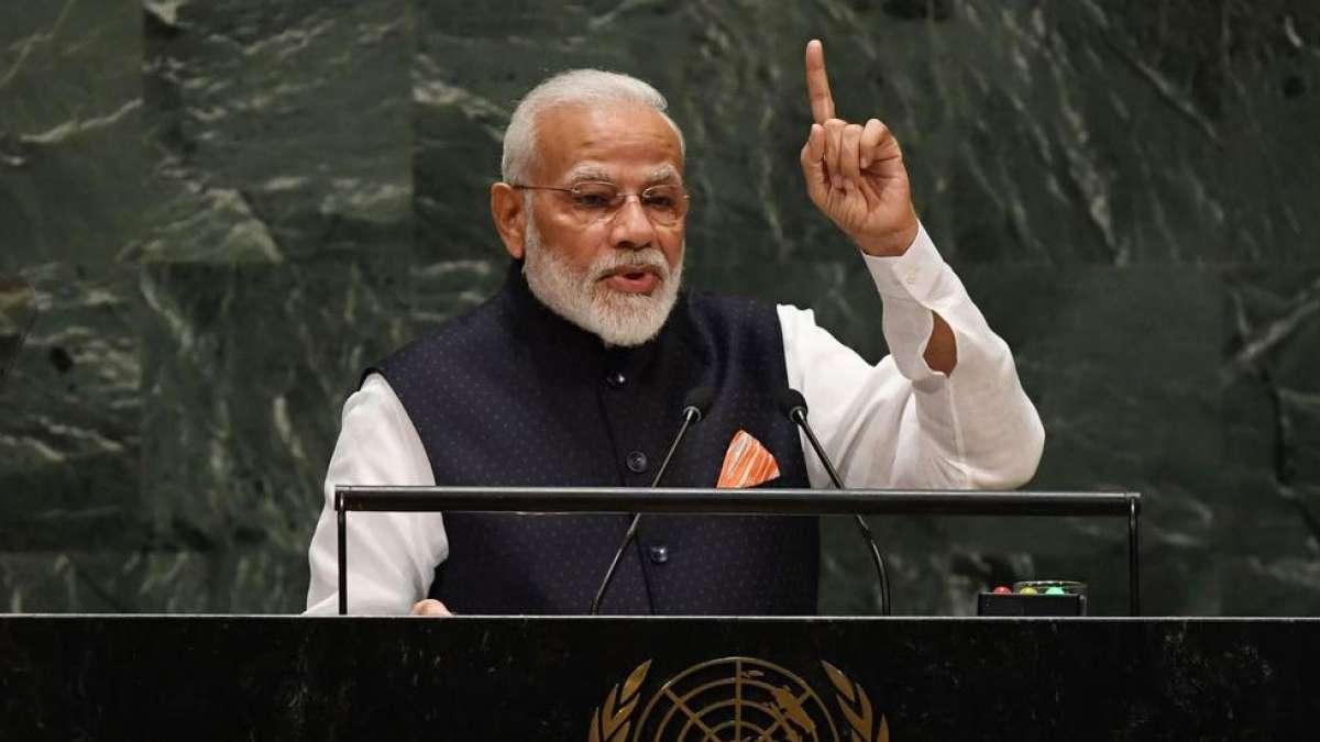 World has to unite against terrorism: PM Modi in UNGA speech