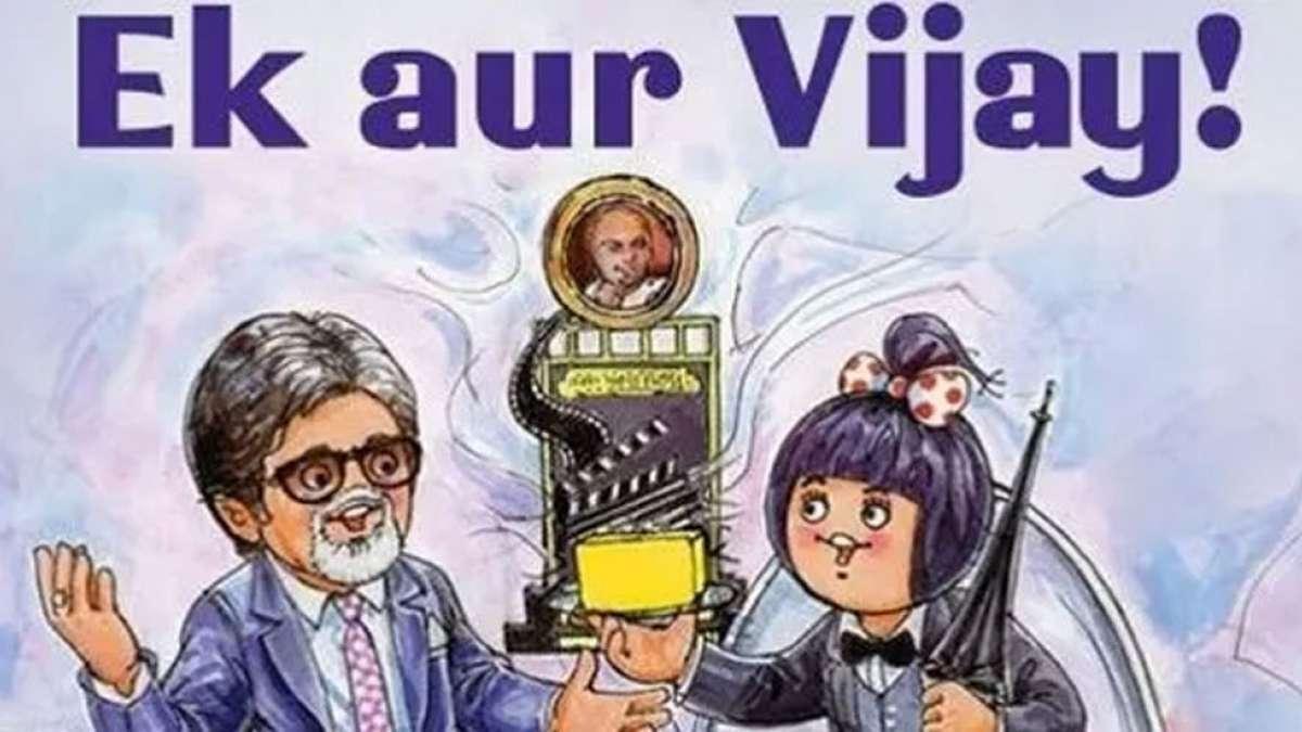 Amul creatively wishes Amitabh Bachchan for Dadasaheb Phalke Award
