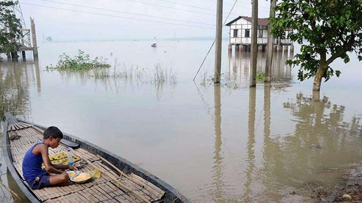 Flood in Bihar and Uttar Pradesh