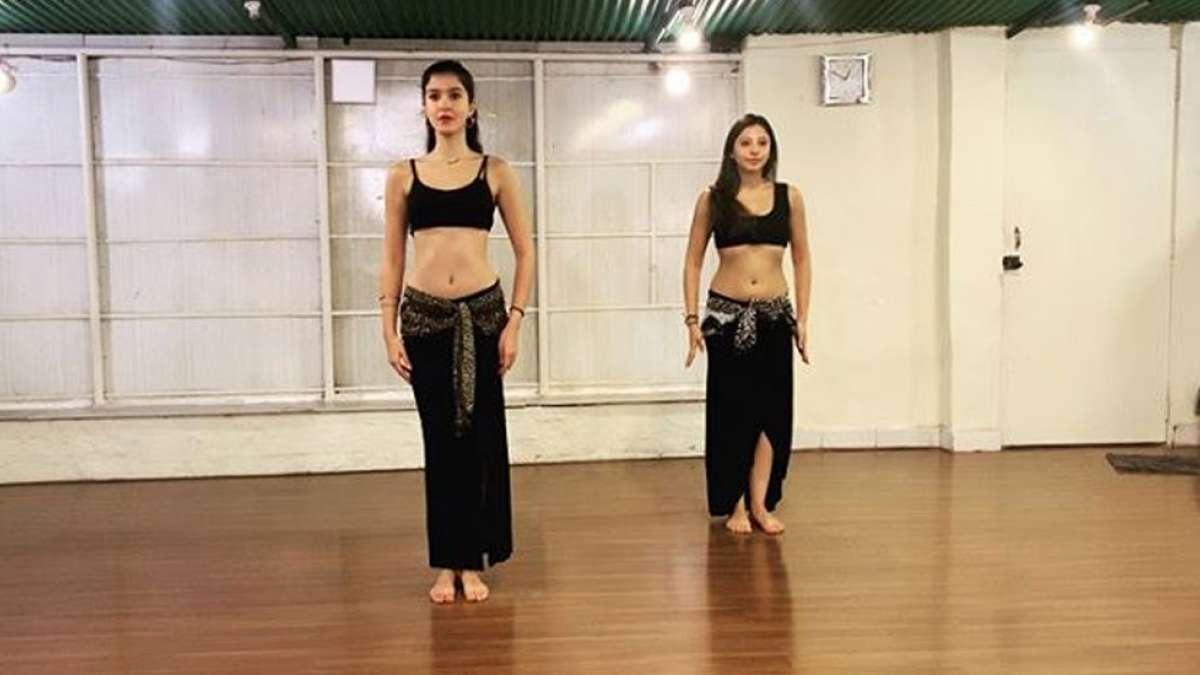 Shanaya Kapoor's belly dance video is a must watch