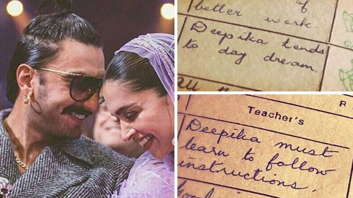 Nostalgic Deepika Padukone shares teacher's remarks on her report card