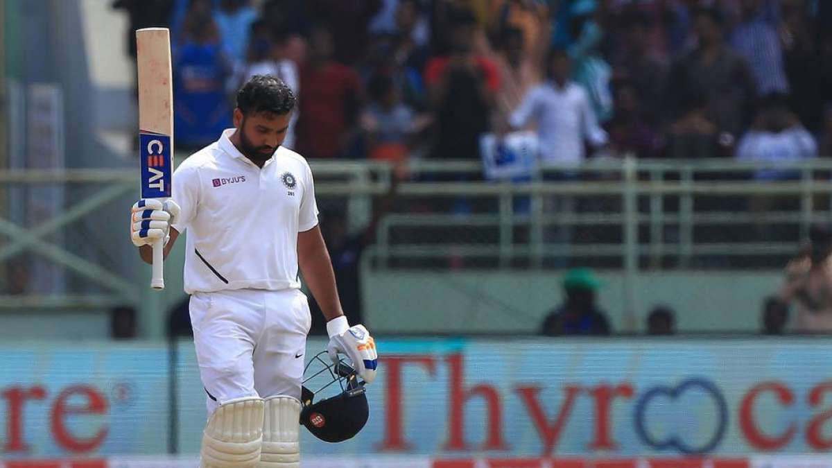 First Test: Rohit Sharma's ton takes India to a commanding position