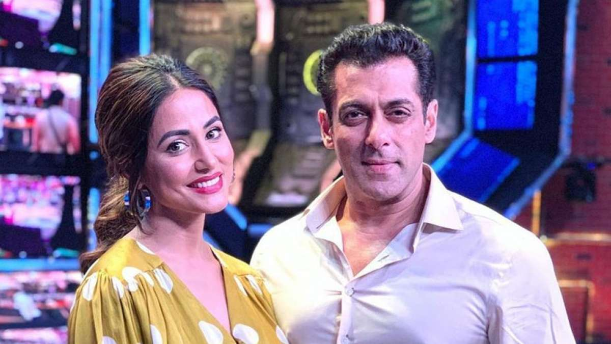 Bigg Boss 13: Hina Khan to enter the house, posts picture with Salman Khan