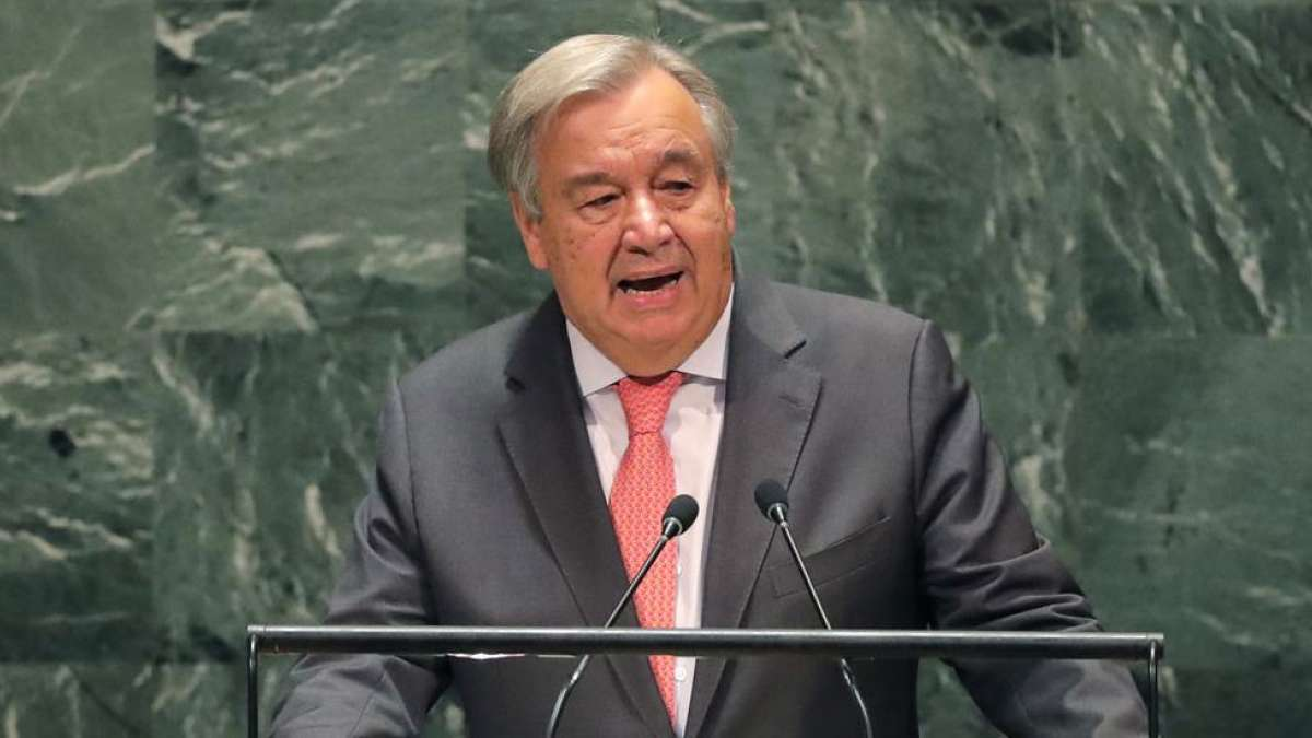 United Nation may fail to pay salaries of staff from next month: Antonio Guterres