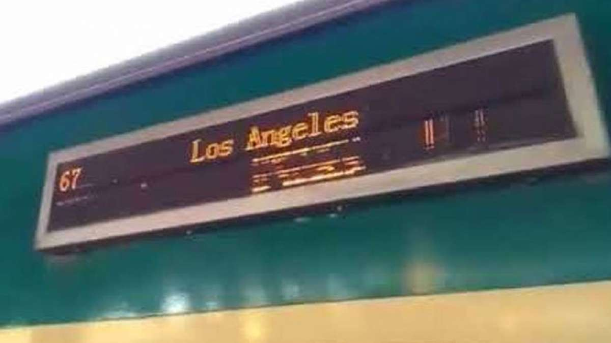 Video: Pakistan train leaving for Los Angeles goes viral on social media