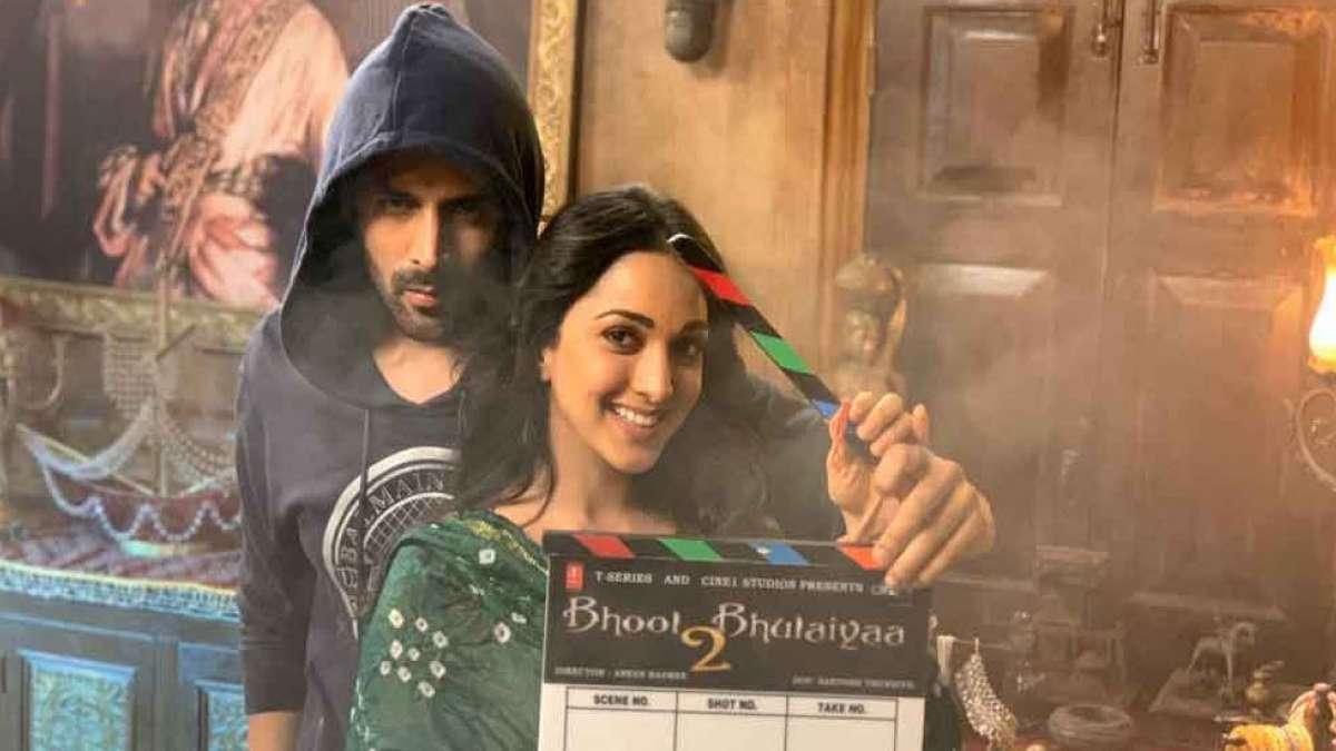 Kartik Aaryan, Kiara Advani start shooting for Bhool Bhulaiyaa 2
