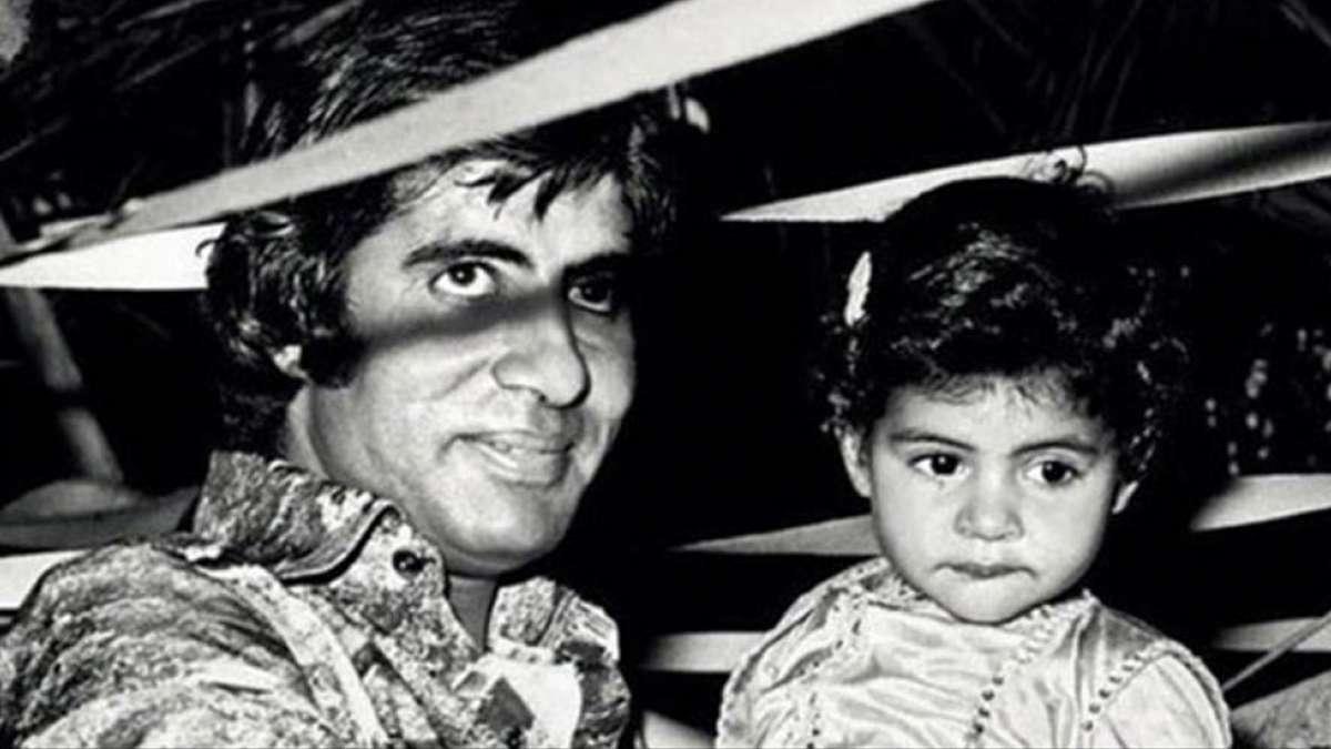 'Love You Endlessly': Read Shweta Bachchan's adorable post for Big B