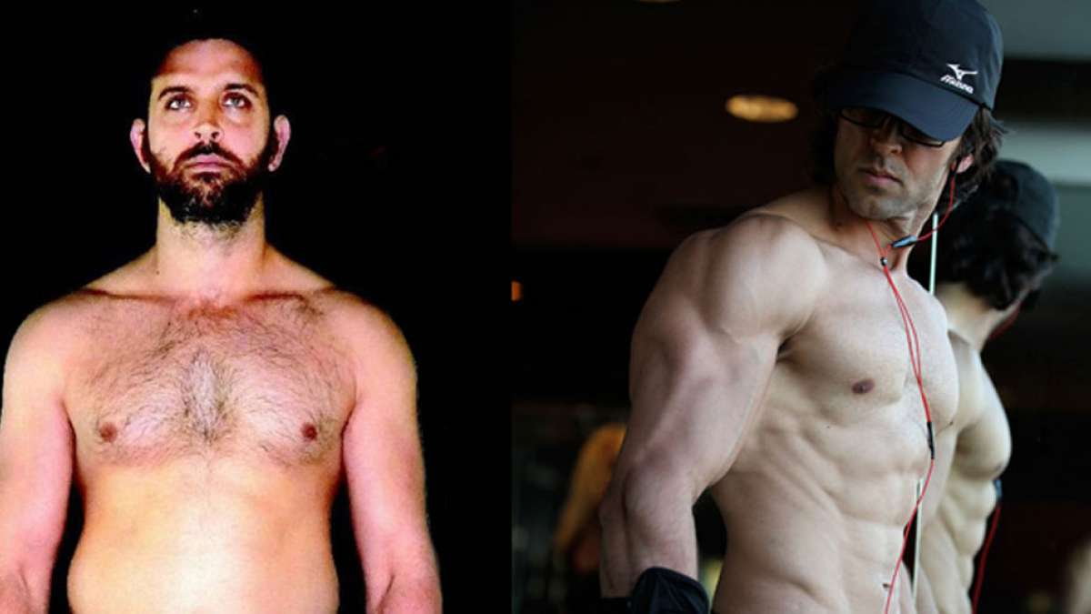 From fat to fab, Hrithik Roshan's transformation image goes viral