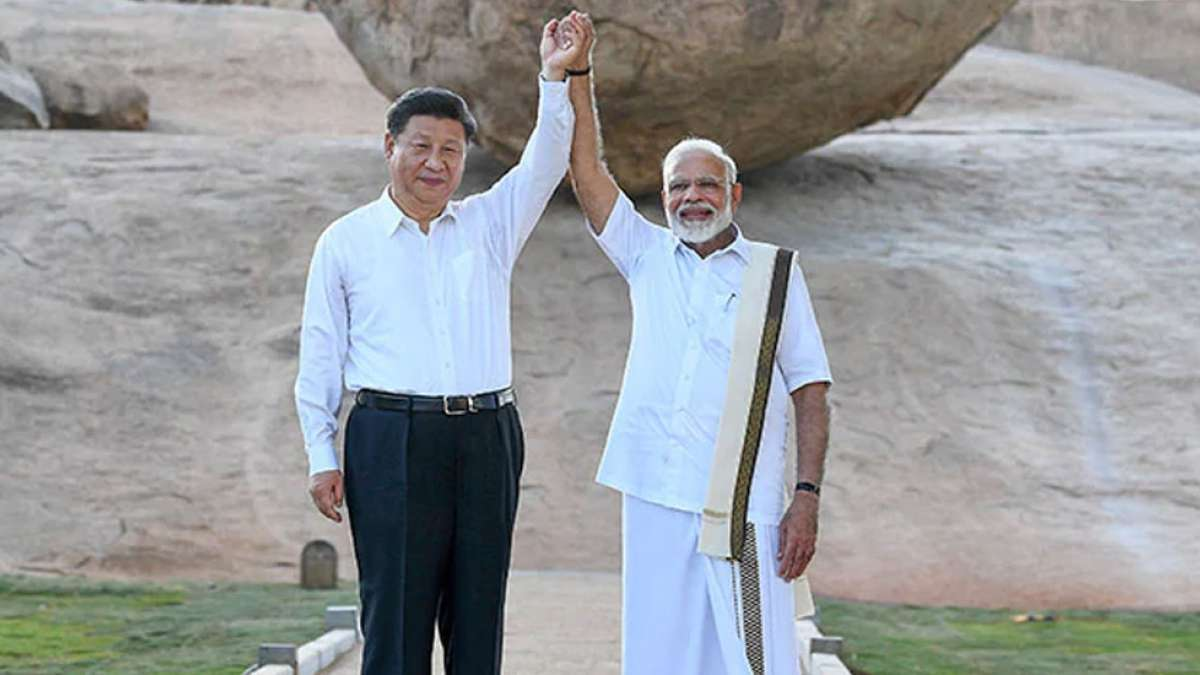 PM Narendra Modi and China President Xi Jinping discuss trade, terrorism on Day 1 of informal summit