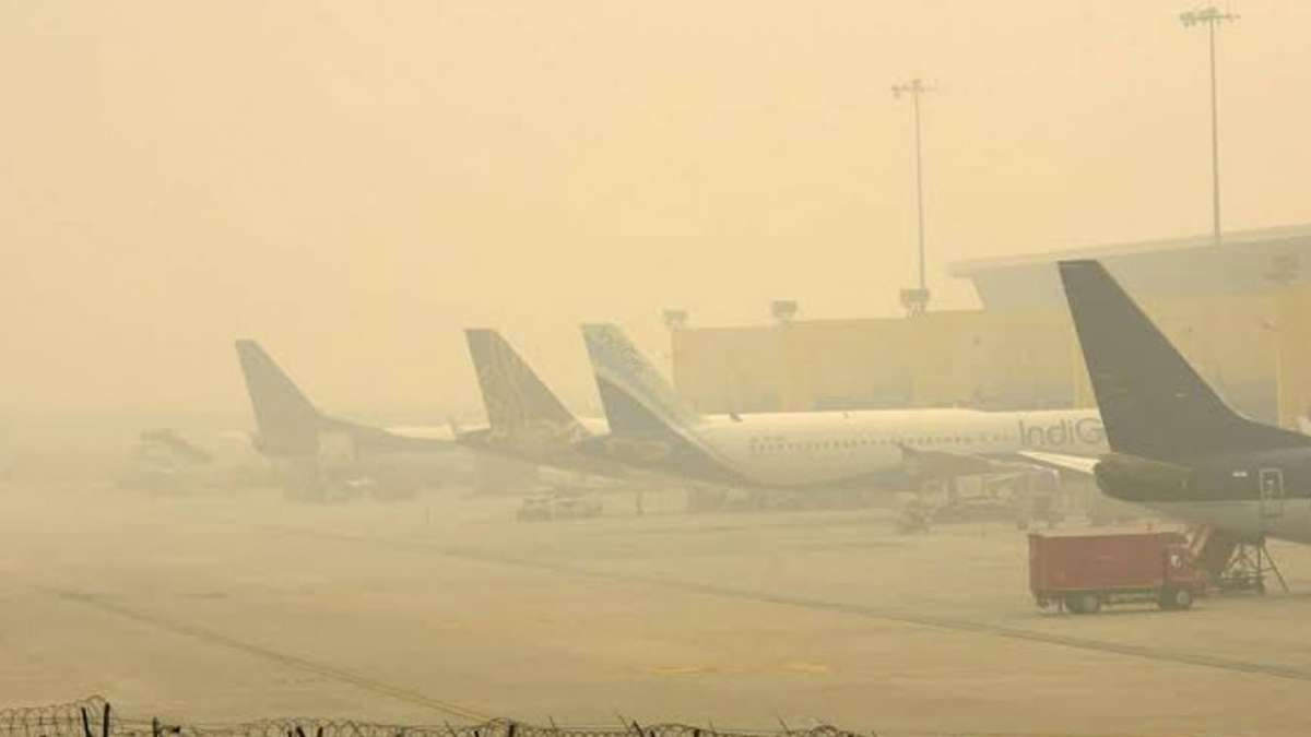Delhi Air Pollution: 32 flights diverted due to low visibility at airport