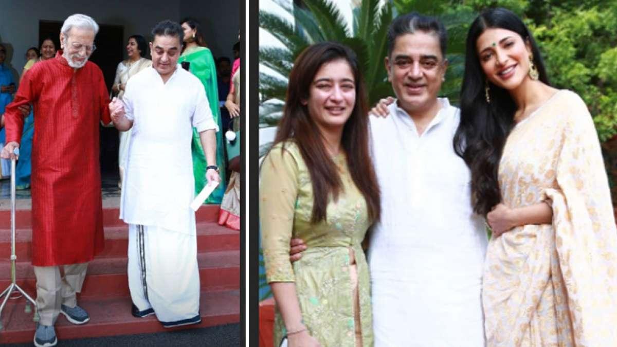 In pics, Kamal Haasan's birthday trip to Paramakudi