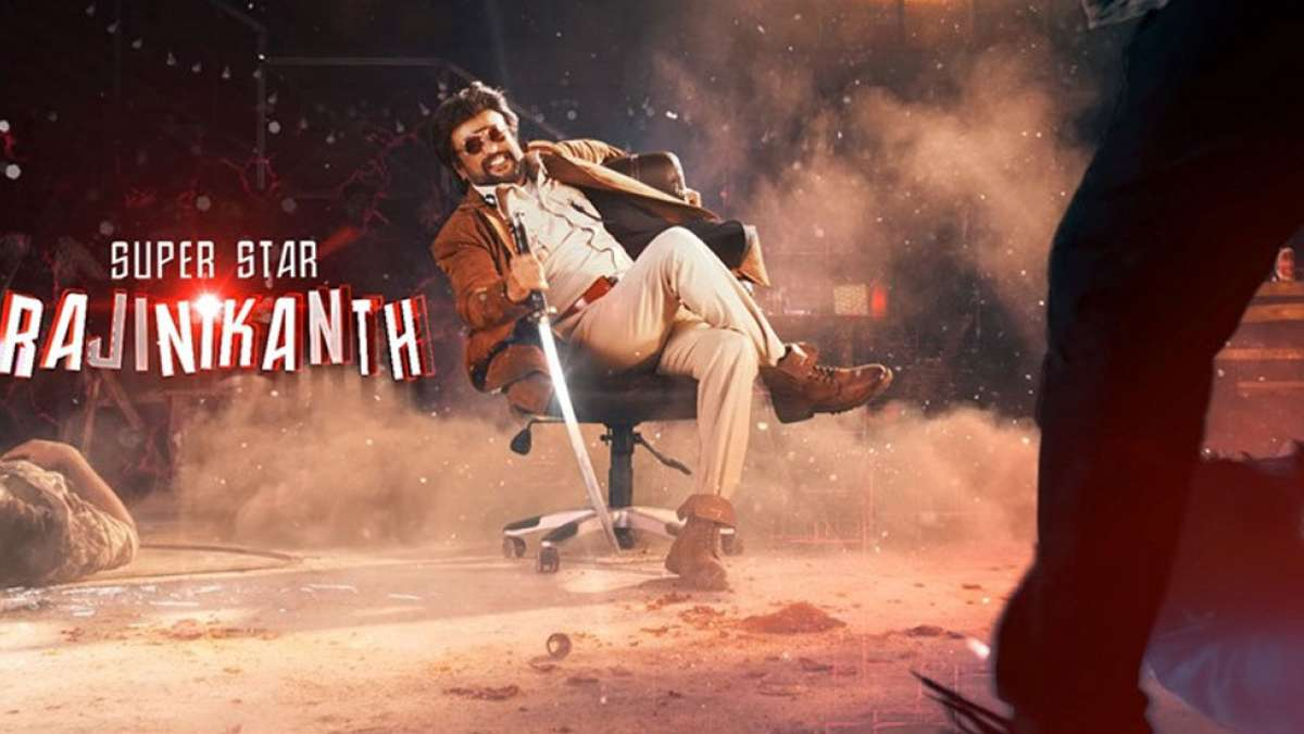 Rajinikanth's cop avatar in Darbar motion poster a treat for fans